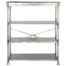 Jamison Large Bookcase - Dark Silver