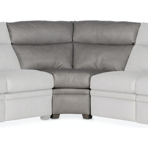 Bradington Young Sectionals 204 Raiden Reclining Sectional with Two-Piece Back