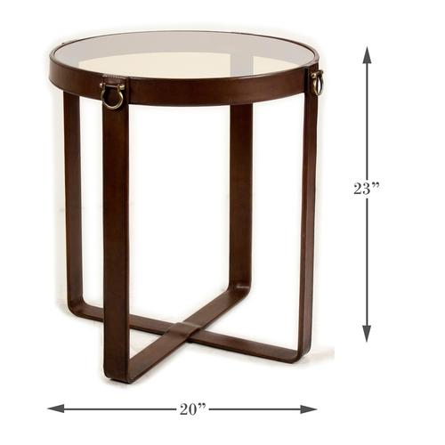 Leather Harness Table