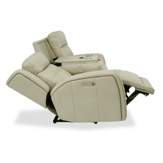 Grant Power Reclining Sofa with Power Headrests