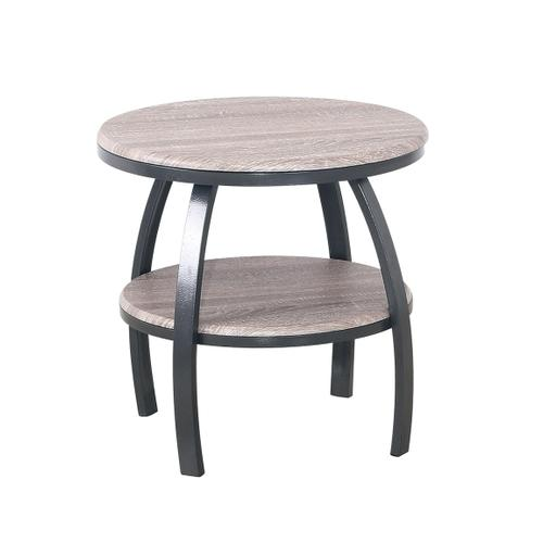 Carson Round End Table