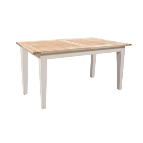 Table, Available in White Teak Finish.