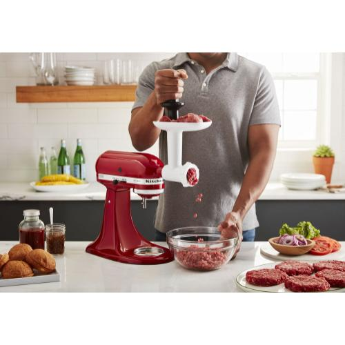 Food Grinder + Fresh Prep Slicer/Shredder Attachment Bundle - Other