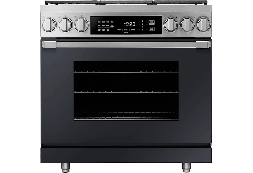 "30"" Induction Pro Range, Anthracite, Natural Gas"