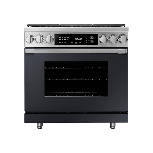 """30"""" Induction Pro Range, Anthracite, Natural Gas"""