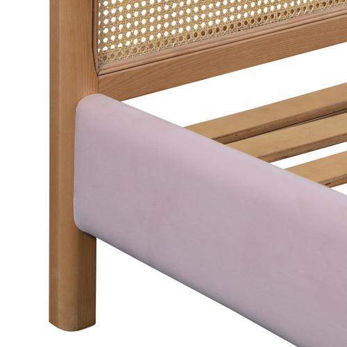 Kavali Blush King Bed