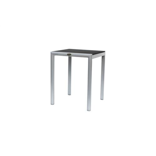 New Roma (Padded Sling) End Table w/Aluminium Top