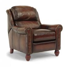 Wayne Leather High-Leg Recliner