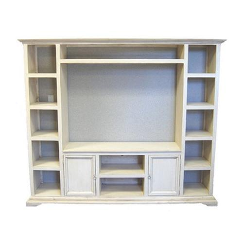 W/washed Entertainment Center