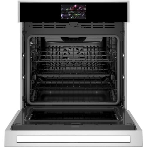 "Monogram 27"" Smart Electric Convection Single Wall Oven Minimalist Collection"