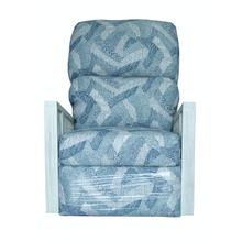See Details - Swivel Recliner Glider, Fully Upholstered Arms.