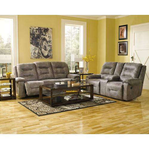 Rotation Power Reclining Loveseat With Console