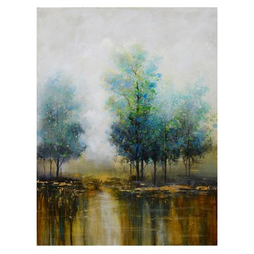 """Crestview Collections - """"PEACE TEAL"""""""