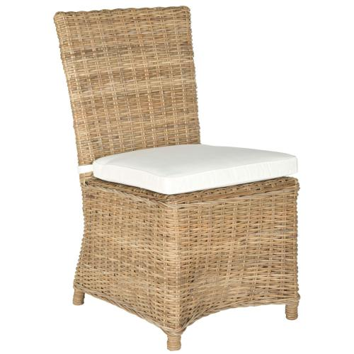 "Sebesi 17""h Rattan Side Chair - Natural"