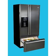 24.6 cu. ft. Convertible Bottom Drawer Refrigerator in Stainless Steel