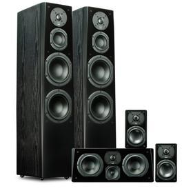 Prime Tower Surround System - Premium Black Ash