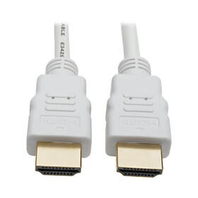 High-Speed HDMI Cable, Gripping Connectors, 4K (M/M), White, 16 ft.