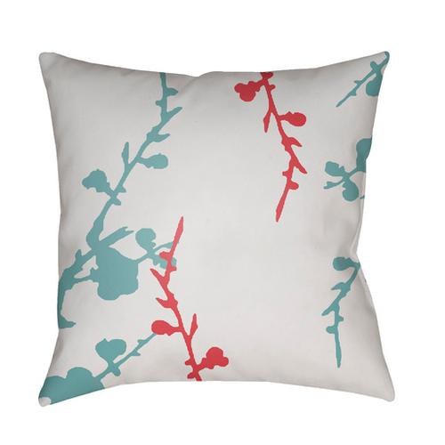 "Chinoiserie Floral CF-017 20"" x 20"""