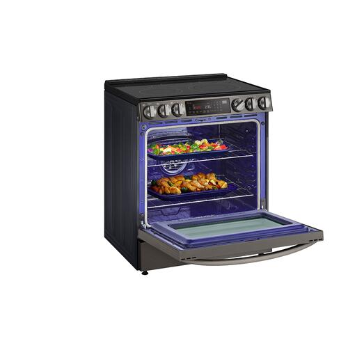 6.3 cu ft. Smart wi-fi Enabled ProBake Convection® InstaView® Electric Slide-In Range with Air Fry