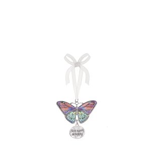 Blissful Journey Butterfly Ornament - Think HAPPY. BE happy