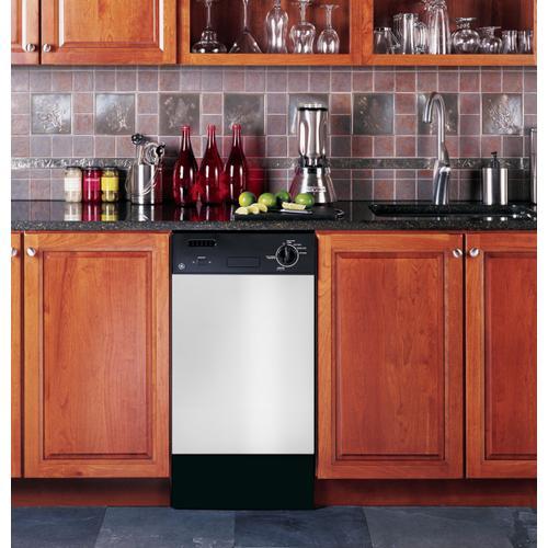 "GE Spacemaker® 18"" Built-In Dishwasher"