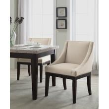 Monarch Easy-care Velvet Wingback Chair In Oyster Velvet Fabric With Solid Wood Legs and Inner Spring Cushioned Seat