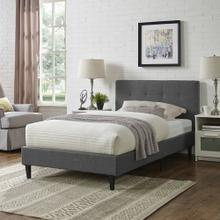 Linnea Twin Bed in Gray