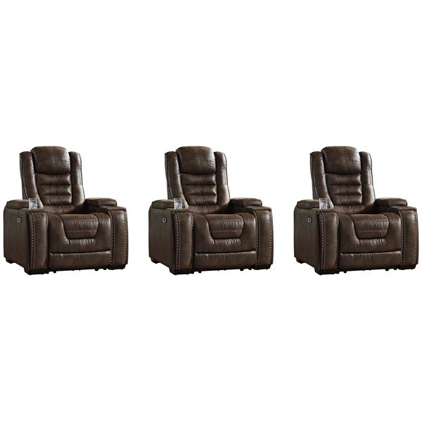 See Details - 3-piece Home Theater Seating