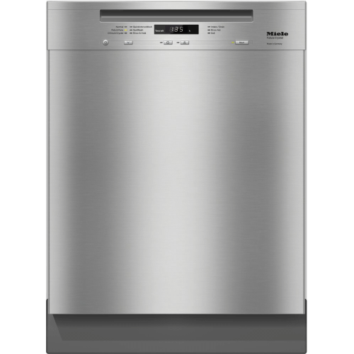 Pre-finished, full-size dishwasher with visible control panel, 3D+ cutlery tray, water softener and 6 Programs