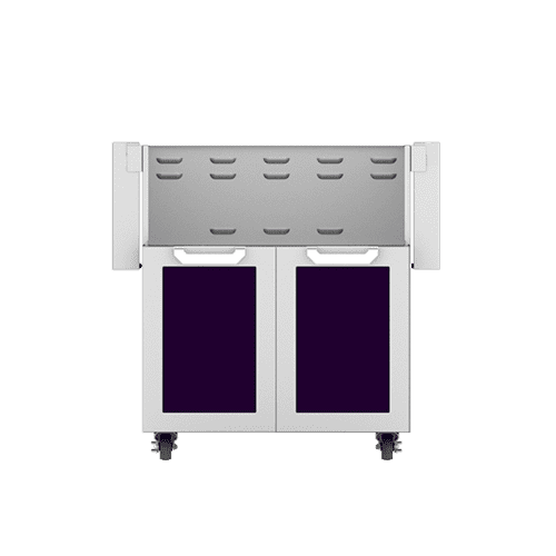 "Hestan - 30"" Hestan Outdoor Tower Cart with Double Doors - GCD Series - Lush"