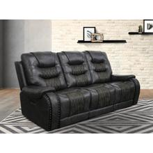 Outlaw Stallion Power Reclining Sofa with Drop Down Table