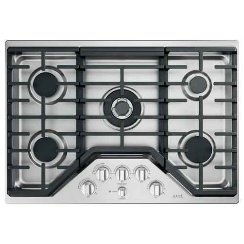 Café 5 Gas Cooktop Knobs - Brushed Stainless