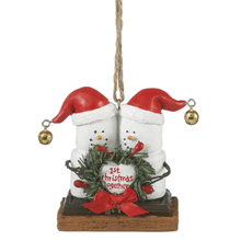 """S'mores """"1st Christmas Together"""" Ornament"""
