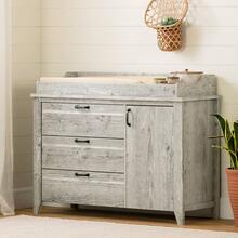 Changing Table with Drawers - Seaside Pine
