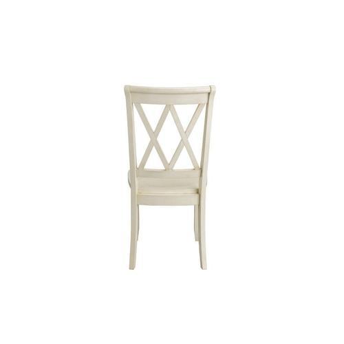 Standard Furniture - Vintage Distressed 2-Pack Vanilla Side Chairs