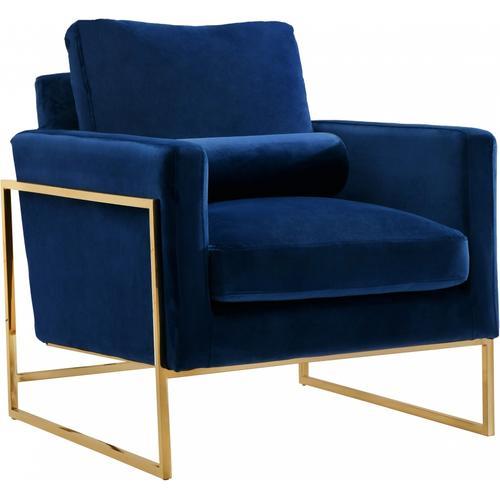 """Mila Velvet Chair - 32"""" W x 36.5"""" D x 35"""" H"""