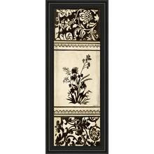 """Garden Shadow Il"" By Kimberly Poloson Framed Print Wall Art"