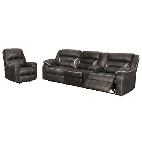 Ashley - 2-piece Sectional With Recliner