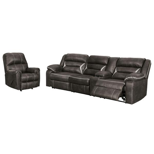 See Details - 2-piece Sectional With Recliner