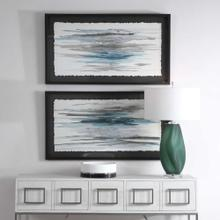 Washed Away Framed Prints, S/2