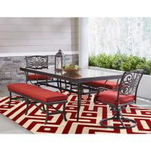See Details - Hanover 9 Ft. x 12 Ft. Indoor/Outdoor Backless Rug with 5000 Hours of UV Protection - Greek Key Red, HANRG9X12GK-RED