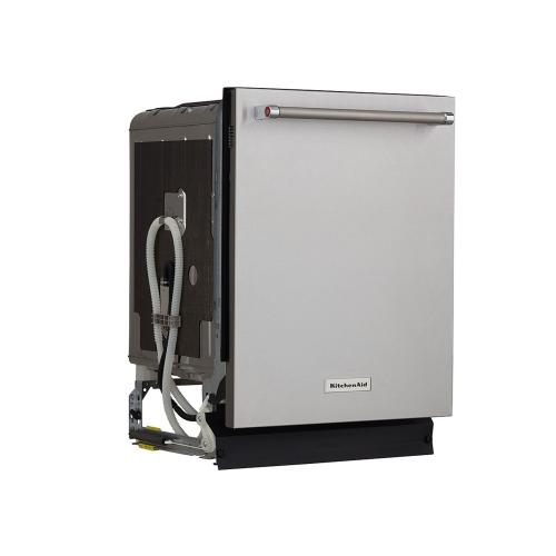 46 DBA Dishwasher with Bottle Wash Option and PrintShield™ Finish - Stainless Steel with PrintShield™ Finish