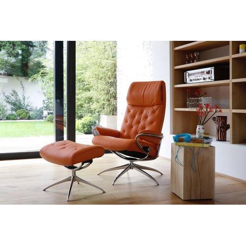 Stressless By Ekornes - Stressless Metro chair high back w/high base