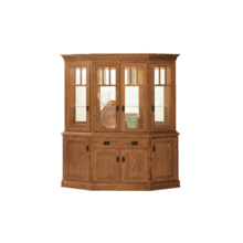 "Mission Canted Hutch 76"" Buffet & Hutch"