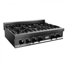 "ZLINE 36"" Ceramic Rangetop in Black Stainless (RTB-36) [Color: Black Stainless Steel]"