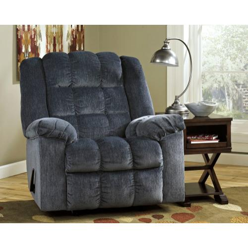 2 for 1 Ludden Blue Recliner Special