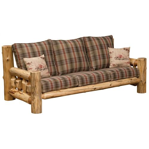 Sofa - Natural Cedar - Customer Fabric