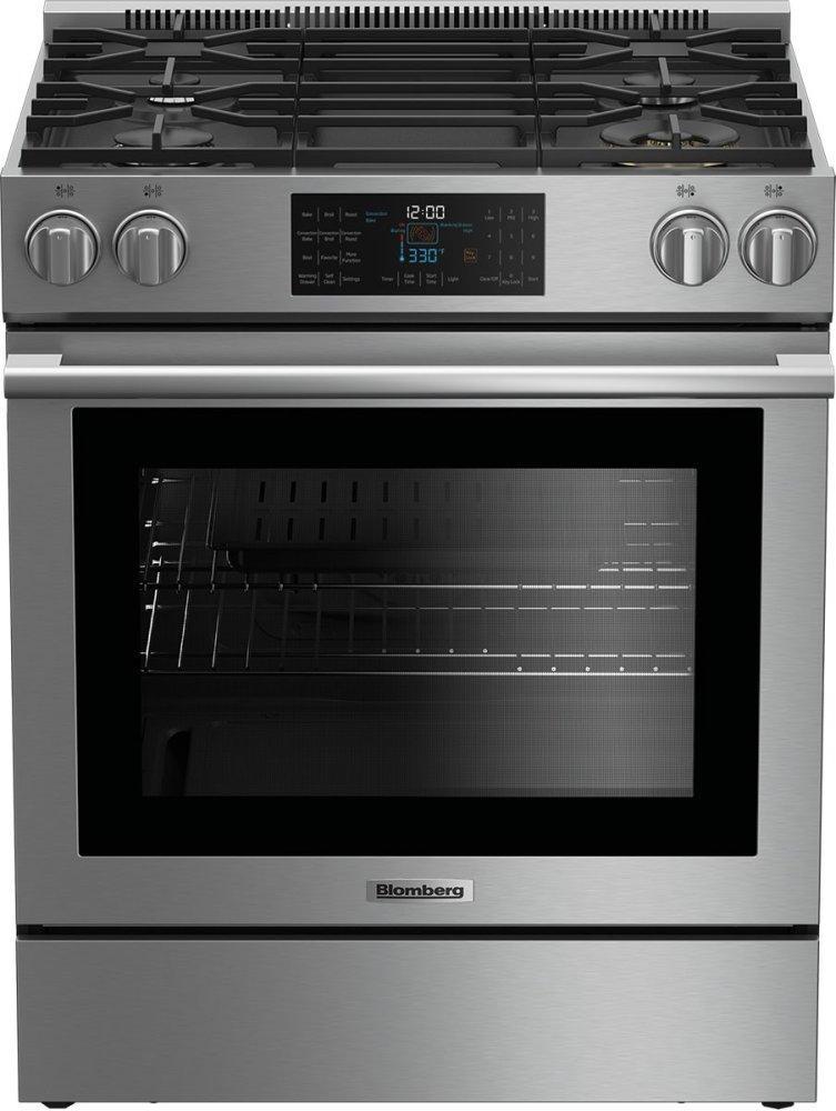 """Blomberg Appliances30"""" Slide-In Gas Range"""