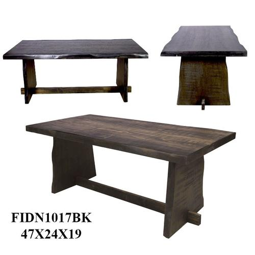 47.2X23.6X18.9' WOODEN COFFEE TABLE, 1 PK/ 3.73'