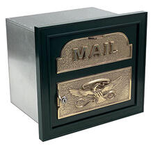 View Product - The Classic Faceplate Mailbox